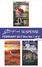 Harlequin love inspired suspense. Box set 1 of 2, February 2017 cover image
