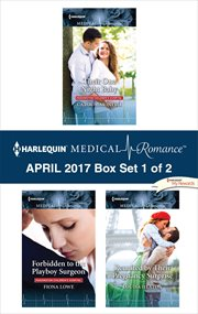 Harlequin medical romance April 2017. Box set 1 of 2 cover image