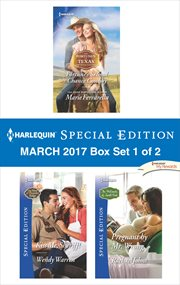 Harlequin special edition March 2017. Box set 1 of 2 cover image