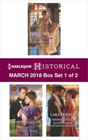 Harlequin historical March 2018 : box set 1 of 2 cover image
