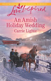 An Amish holiday wedding cover image