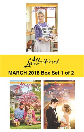 Cover image for Harlequin Love Inspired March 2018 - Box Set 1 of 2