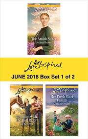 Harlequin Love Inspired June 2018. Box Set 1 of 2 cover image