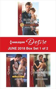 Harlequin Desire, June 2018. Box set 1 of 2 cover image
