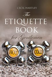 The etiquette book for gentlemen cover image