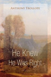 He knew he was right cover image