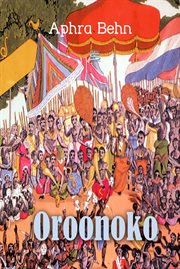 Oroonoko: an authoritative text, historical backgrounds, criticism cover image