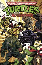 Teenage Mutant Ninja Turtles adventures. Issue 13-16 cover image