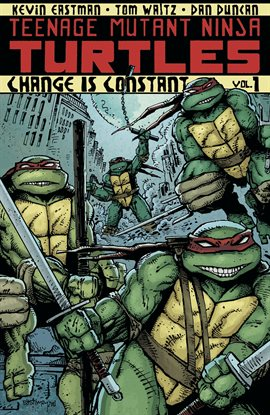 Teenage Mutant Ninja Turtles, book cover