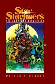 Star Slammers: the complete collection. Issue 1-7 cover image