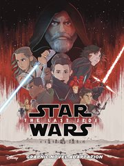 Star wars: the last jedi graphic novel adaptation cover image