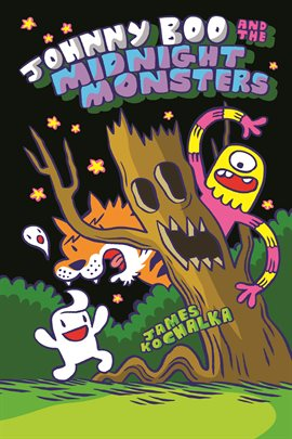 Johnny Boo and the Midnight Monsters, book cover