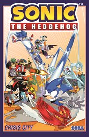 Sonic the hedgehog. Volume 5, Battle for Angel Island cover image