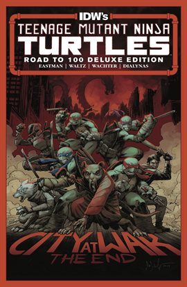 Cover image for Teenage Mutant Ninja Turtles Deluxe Edition