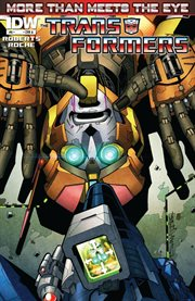 Transformers. Issue 6, More than meets the eye cover image