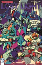 Transformers. Issue 19, Lost light cover image