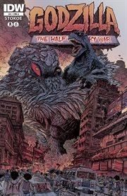 Godzilla: half century war. Issue 3 cover image