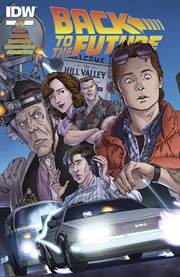 Back to the future: untold tales and alternate timelines, part 1. Issue 1 cover image