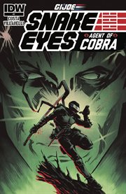 G.i. joe: snake eyes, agent of cobra. Issue 2 cover image
