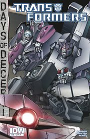 Transformers (2011-): days of deception. Issue 38 cover image
