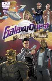 Galaxy quest: the journey continues. Issue 4 cover image