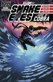 G.i. joe: snake eyes, agent of cobra. Issue 3 cover image
