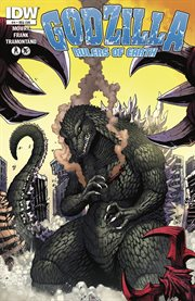 Godzilla, rulers of Earth. Issue 4 cover image