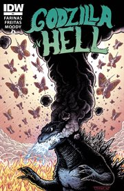 Godzilla in hell. Issue 3 cover image