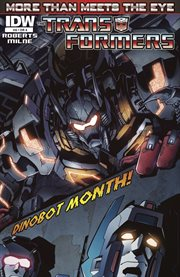 Transformers. Issue 8, More than meets the eye cover image