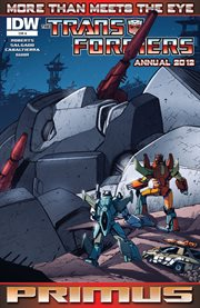 Transformers: More Than Meets the Eye Annual 2012
