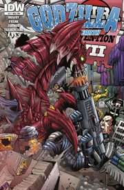 Godzilla. Issue 3, Rulers of Earth cover image