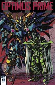 Optimus prime. Issue 10 cover image