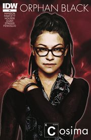 Orphan black. Issue 4 cover image