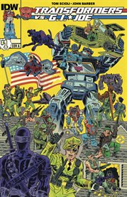Transformers vs. G.I. Joe. Issue 1 cover image