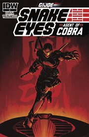 G.i. joe: snake eyes, agent of cobra. Issue 1 cover image