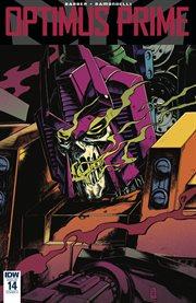 Optimus prime. Issue 14 cover image