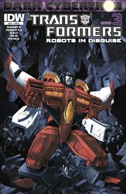 Transformers: robots in disguise (2011-): dark cybertron part 3. Issue 23 cover image