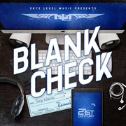Blank check cover image