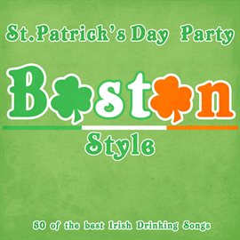 St. Patricks Day Party Boston Style, book cover