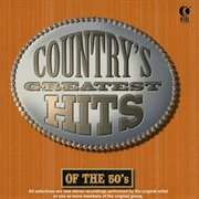 Country's greatest hits of the 50's cover image