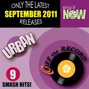 September 2011 urban smash hits (r&b, hip hop) cover image