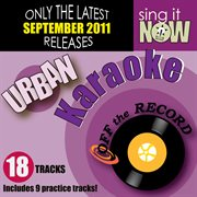 September 2011 urban hits karaoke (r&b, hip hop) cover image
