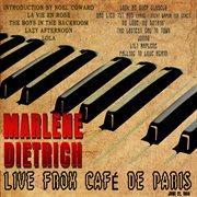 Marlene Dietrich - Live From Caf̌ De Paris - June 21, 1954 (live) [remastered]