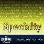 The Karaoke Channel - Specialty Vol. 1