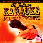 Karaoke backing track deluxe presents: al jolson cover image
