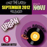 September 2012 Urban Smash Hits