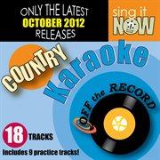 October 2012 Country Hits Karaoke