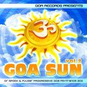Goa sun v. 2 by dr. spook & pulsar  (best of progressive goa trance, acid techno, pschedelic trance) cover image