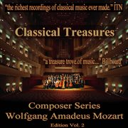 Classical treasures composer series: wolfgang amadeus mozart, vol. 2 cover image