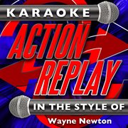 Karaoke action replay: in the style of wayne newton cover image